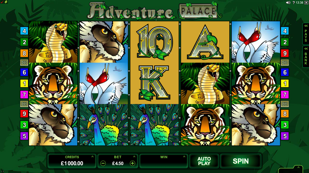 Adventure Palace Slot Machine Online ᐈ Microgaming™ Casino Slots